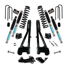 Superlift 4 inch Lift Kit - 2005-2007 Ford F-250 and F-350 Super Duty 4WD - Diesel Engine - with Replacement Radius Arms and Superide Shocks or Bilstein Shocks