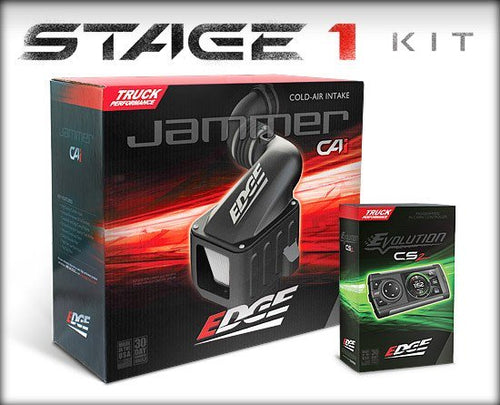 EDGE 29000-D STAGE 1 PERFORMANCE KIT (DIESEL EVOLUTION CS2/JAMMER CAI) | CHEVY/GMC 2001-2004 6.6L