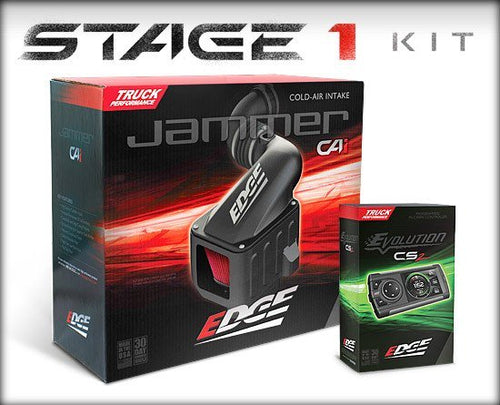 EDGE 29000 STAGE 1 PERFORMANCE KIT (DIESEL EVOLUTION CS2/JAMMER CAI) | CHEVY/GMC 2001-2004 6.6L