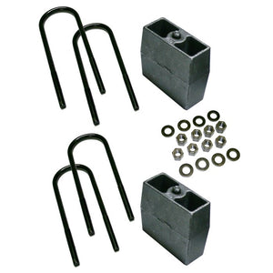 Superlift 5 inch Block Kit - 1999-2010 Ford F-250 and F-350 Super Duty 4WD with 3 7/8 AxleTube - Without Top Mounted Overload Leaf