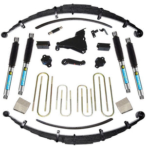 SUPERLIFT 8 inch Lift Kit - 1999 Ford F-250 and F-350 4WD Diesel Engine (Made on or after 3-1-99) - with Superide Shocks or Bilstein Shocks