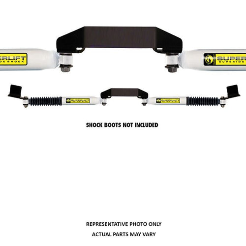 SUPERLIFT Dual Steering Stabilizer Kit - Superide (Hydraulic) - 2008-2018 Ford F-250/350 Super Duty 4WD