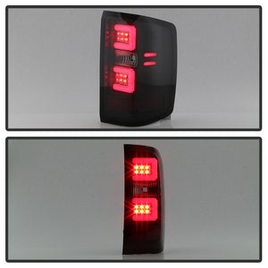 Spyder Auto 5083739 LIGHT BAR LED TAIL LIGHTS-BLACK SMOKE 16-17 SILVERADO (WILL ONLY WORK WITH FACTORY LED TYPE)
