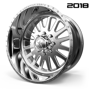 AMERICAN FORCE F20 ATOM SS FORGED ALUMINUM WHEEL - 8 LUG 8X170 - Polish