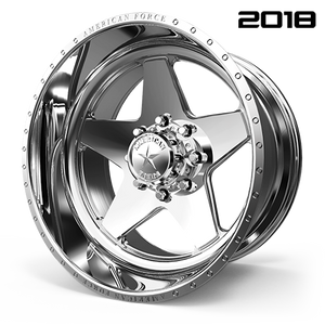AMERICAN FORCE CK16 ACID CC FORGED ALUMINUM WHEEL CONCAVE SERIES - Polish