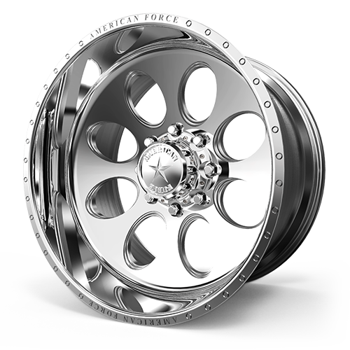 AMERICAN FORCE CK15 DRIVE CC FORGED ALUMINUM WHEEL CONCAVE SERIES - 8x170 - Polish