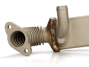 Sinister Diesel EGR Cooler for Ford Powerstroke 2008-2010 6.4L (Vertical)