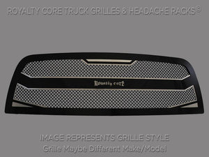 Royalty Core 14991 Full Grille Replacement 2500/3500 HD 2005-2007 RC4 Layered Grille Chevy Silverado