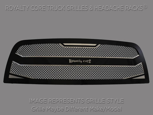 Royalty Core RC4 Layered Grille For 2008-2010 Ford F-250/350 Super Duty