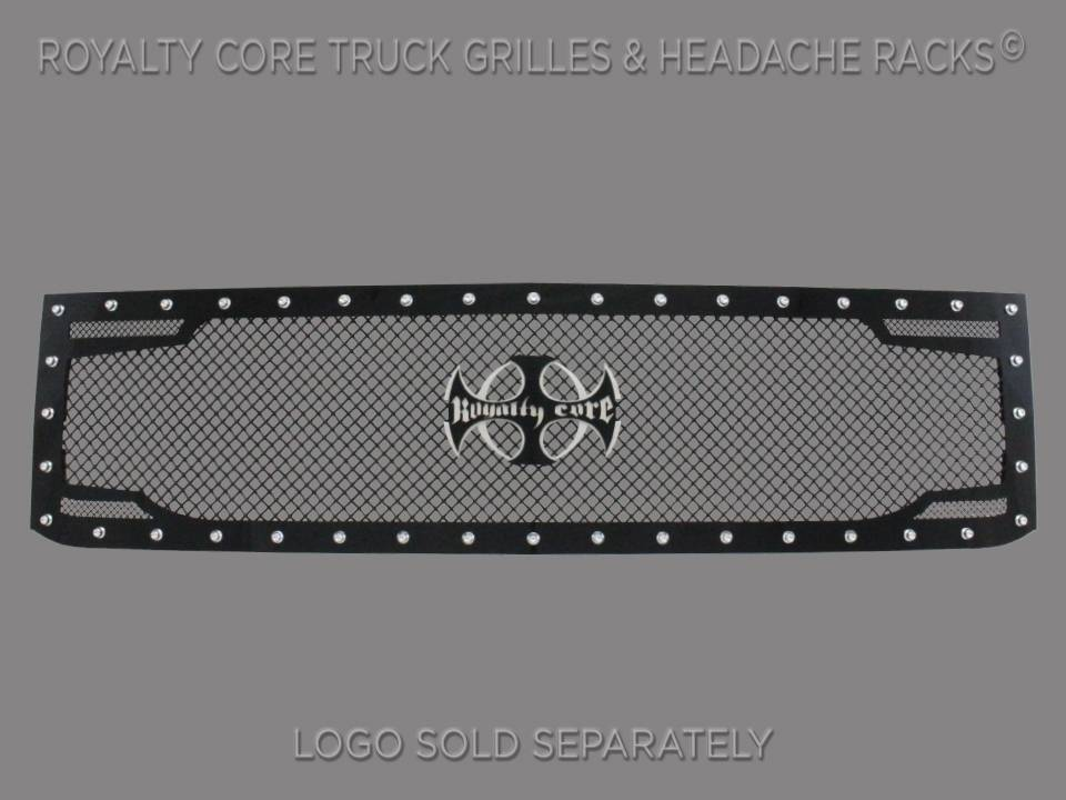 Royalty Core 15394 Chevy 2500/3500 2015-2018 RC2 Twin Mesh Grille