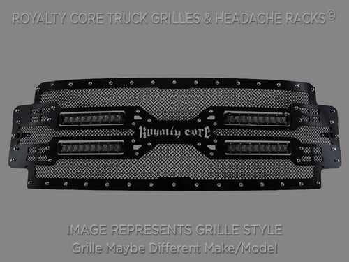 Royalty Core RC5X Quadrant LED Grille For 2008-2010 Ford F-250/350 Super Duty