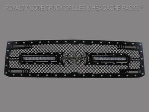 Royalty Core 14521 Chevy 2500/3500 2015-2018 RC2X X-Treme Dual LED Grille