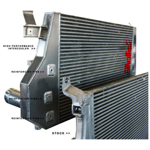 PPE 115041100 HIGH FLOW PERFORMANCE INTERCOOLER WITH REINFORCED PINS 2006-2010 GM 6.6L DURAMAX LBZ/LMM (HIGH BOOST APPLICATIONS)