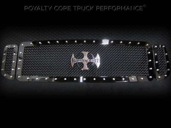 ROYALTY CORE Ford Super Duty 1999-2004 RC1 Main Grille with Center Emblem