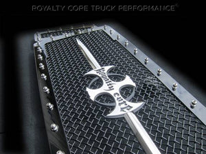 ROYALTY CORE Ford Super Duty 1999-2004 RC1 Main Grille 3 Piece with Chrome Sword Assembly