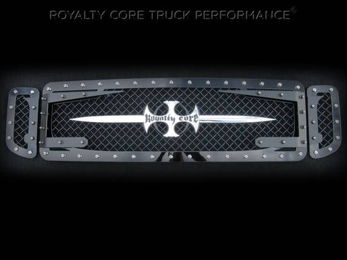 ROYALTY CORE Ford Super Duty 2005-2007 RC3DX Innovative Grille