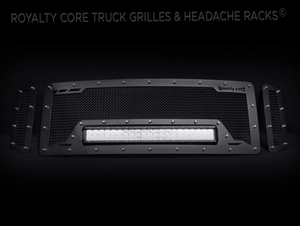 Royalty Core RCRX LED Race Line Grille For 2008-2010 Ford F-250/350 Super Duty