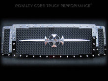 Royalty Core RC1 Main Grille 3 Piece with Chrome Sword Assembly For 2008-2010 Ford F-250/350 Super Duty