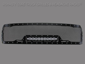 Royalty Core Chevy 2500/3500 2007-2010 Full Grille Replacement RC1X Incredible LED Grille