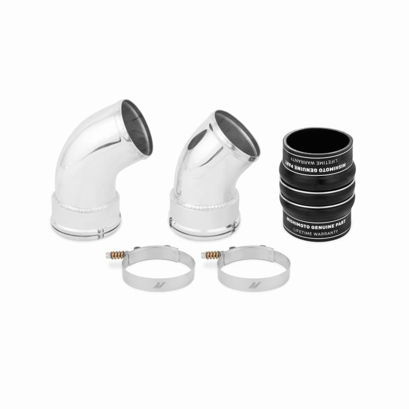 MISIHIMOTO MMICP-DMAX-06CBK COLD-SIDE INTERCOOLER PIPE AND BOOT KIT, 2006-2010 DURAMAX 6.6L