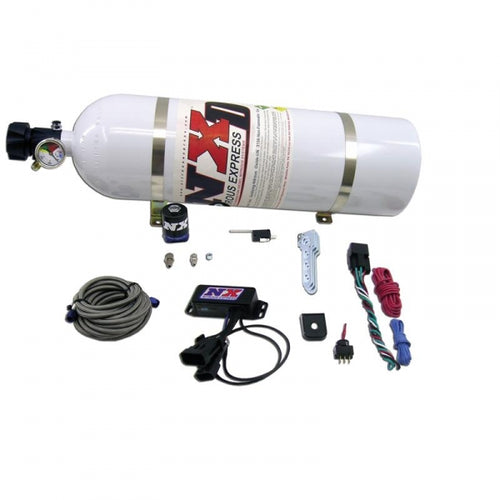 NITROUS EXPRESS NXD1000 NITROUS SYSTEM W/ PROGRESSIVE CONTROLLER WITH 15LB BOTTLE - UNIVERSAL