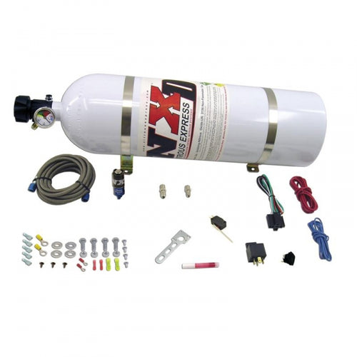 NITROUS EXPRESS NXD11110 NXD STACKER DIESEL NITROUS SYSTEM - DRY NITROUS SYSTEM INCLUDES 15LB BOTTLE, 50HP