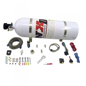NITROUS EXPRESS NXD12000 DIESEL STACKER 2 WITH .093 NITROUS SOLENOID (INCL. 15LB BOTTLE AND ALL MOUNTING HARDWARE)
