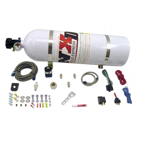 NITROUS EXPRESS NXD12001 DIESEL STACKER 3 WITH .125 NITROUS SOLENOID (INCL. 15LB BOTTLE AND ALL MOUNTING HARDWARE)