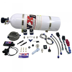 NITROUS EXPRESS NXD4000 SX2D DUAL STAGE DIESEL SYSTEM WITH MINI PROGRESSIVE CONTROLLER.