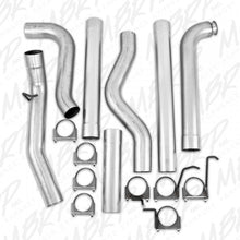 "MBRP 4"" PLM SERIES DOWNPIPE-BACK EXHAUST SYSTEM S6004PLM 2001-2007 GM 6.6L DURAMAX (ALL CREW & EXT. CABS) (OFF-ROAD)"