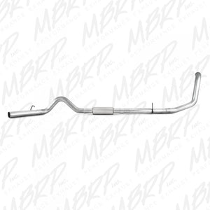 "MBRP 4"" PERFORMANCE SERIES TURBO-BACK EXHAUST SYSTEM S6200P 1999-2003 FORD 7.3L POWERSTROKE (ALL CABS & BEDS)"