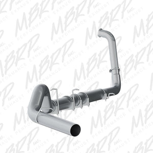 "MBRP 5"" SLM SERIES TURBO-BACK EXHAUST SYSTEM S62240SLM 2003-2007 FORD 6.0L POWERSTROKE (ALL CREW & EXTENDED CABS)(OFF-ROAD)"