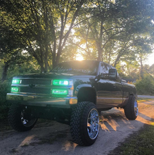 1989-1999 GMC Sierra COLORWERKZ Halo Kit - Lightwerkz Off-Road