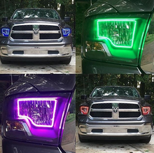2009-2015 Dodge Ram Dual COLORWERKZ Halo Kit - Lightwerkz Off-Road