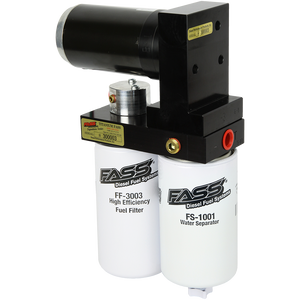 FASS TITANIUM SIGNATURE SERIES DIESEL FUEL LIFT PUMP 250GPH DODGE CUMMINS 5.9L AND 6.7L 2005-2018 (TS DO7 250G)