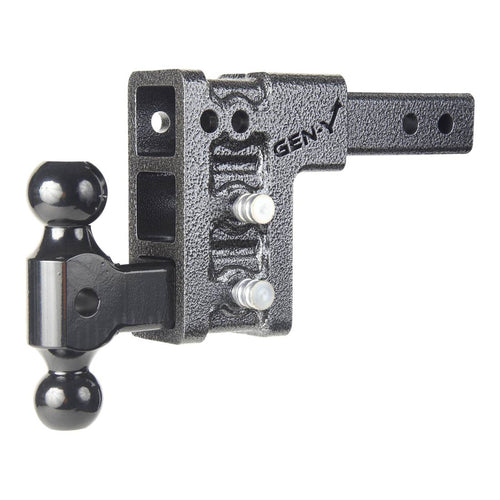 Gen-Y Hitch Mega-Duty 10K Drop Hitch w/Versa-Ball Mount | 2