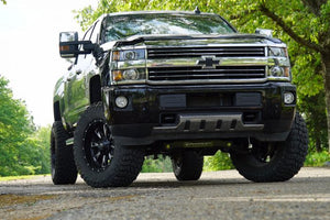 SUPERLIFT 6 inch Lift Kit - 2011-2018 Chevy Silverado and GMC Sierra 2500HD or 3500 4WD - Knuckle Kit with Superide Shocks