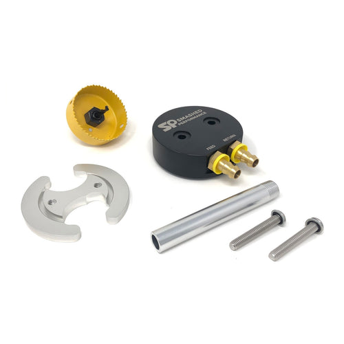 Smashed Performance Fuel Tank Sump Kit W/Return