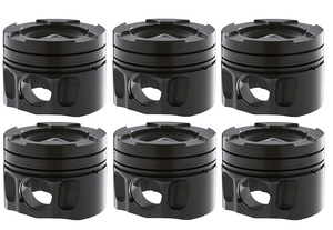 CARRILLO DH7104 HIGH-PERFORMANCE PISTON SET | 89-07 DODGE 5.9L CUMMINS