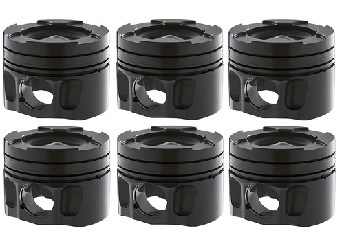CARRILLO D7104 HIGH-PERFORMANCE PISTON SET | 89-07 DODGE 5.9L CUMMINS