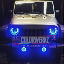 Jeep Wrangler RGBW Halo Kit