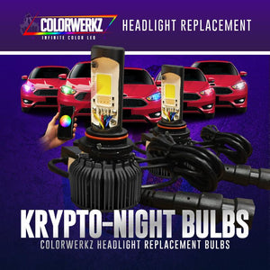Krypto-Night Multicolor RGBW Headlight Bulbs