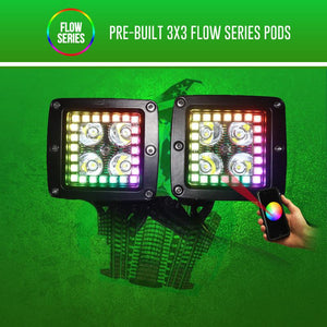Pre-Built Flow Series 3x3 Pods