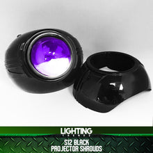 S12 Projector Shrouds (Black or Chrome)