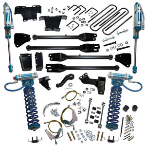 SUPERLIFT 6 inch Lift Kit - 2008-2010 Ford F-250 and F-350 Super Duty 4WD - with a 4-Link Conversion, King Coilovers and King rear Shocks