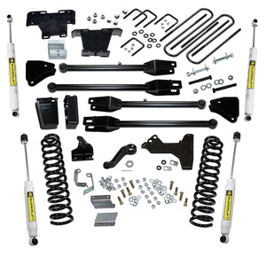 SUPERLIFT 6 inch Lift Kit - 2011-2016 Ford F-250 and F-350 Super Duty 4WD - Diesel Engine - with a 4-Link Conversion and Superide Shocks