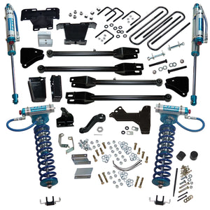 SUPERLIFT 6 inch Lift Kit - 2011-2016 Ford F-250 and F-350 Super Duty 4WD - with a 4-Link Conversion, King Coilovers and King rear Shocks