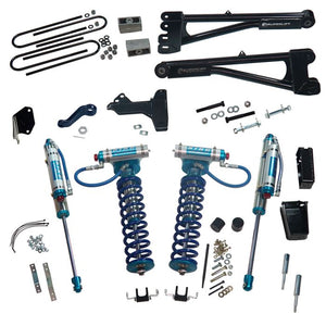 SUPERLIFT 6 INCH LIFT KIT - 2005-2007 FORD F-250 AND F-350 SUPER DUTY 4WD - WITH REPLACEMENT RADIUS ARMS, KING COILOVERS AND KING REAR SHOCKS