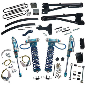 SUPERLIFT 8 inch Lift Kit - 2008-2010 Ford F-250 and F-350 Super Duty 4WD - with Replacement Radius Arms, King Coilovers and King rear Shocks