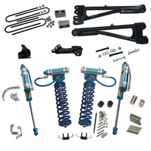 Superlift 4 inch Lift Kit - 2011-2016 Ford F-250 and F-350 Super Duty 4WD - with Replacement Radius Arms, King Coilovers and King rear Shocks